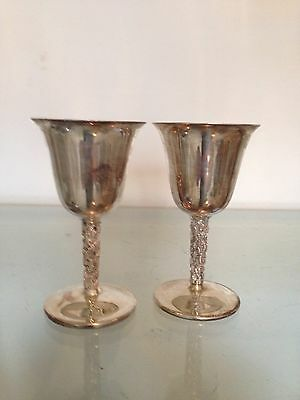 Vintage Silver Plated Sherry Liqueur Goblet