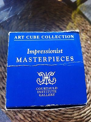 Boxed Art Cube By Courtauld Institute Gallery , Impressionists