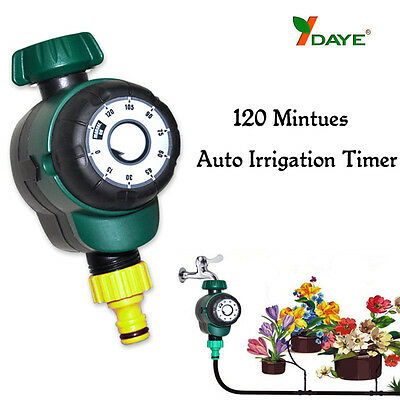BG216 DAYE Garden 2 Hours Automatic Watering Timer Plant Mechanical Irrigation