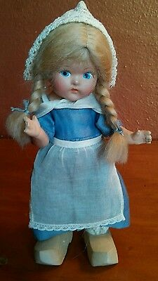 Vintage Vogue Toddles Dutch Girl Composition Doll 1947-1948
