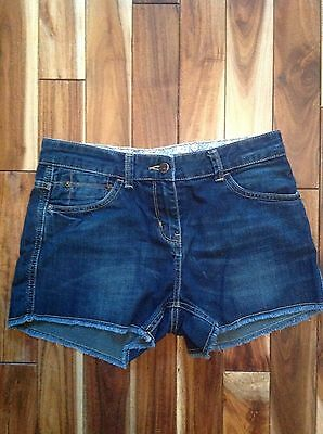 Ladies Size 8 Denim Shorts By Falmer Heritage