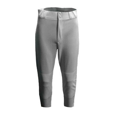 New Majestic Adult Pro Style Baseball Pants Grey Size Medium - 8574