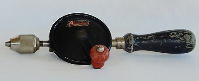 Vintage Stanley HANDYMAN H1214 Egg Beater Hand Drill MADE IN USA