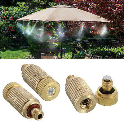 BG121 Garden Irrigation Brass Spray Nozzle Cooling Humidification 3/16 inch