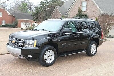 2013 Chevrolet Tahoe Z71 Perfect Carfax Heated Leather Seats 3rd Row Seat 8 Passenger Seating