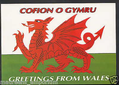 Wales postcard greetings from wales the welsh dragon rr1121 wales postcard greetings from wales the welsh dragon rr1121 m4hsunfo Images
