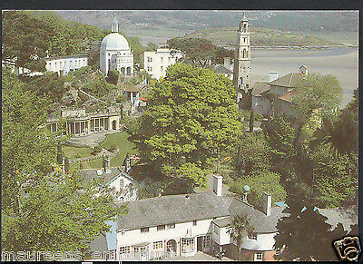 Wales Postcard - The View From The Gazebo, Portmeirion  RR1118