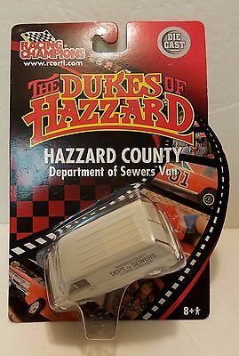 The Dukes of Hazzard Dept of Sewer Racing Champions Chevy Van