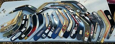 Lot Of 29 Hockey Shaft Blades Easton TPS Sher-Wood RBK Bauer Nike wood & carbon