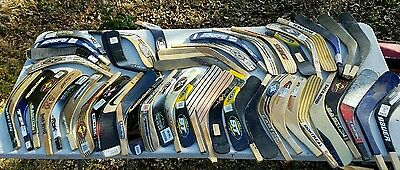 Lot Of 50 Hockey Shaft Blades Easton TPS Sher-Wood RBK Bauer Nike wood & carbon