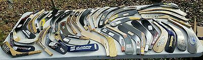 Lot Of 40 Hockey Shaft Blades Easton TPS Sher-Wood RBK Bauer Nike wood & carbon