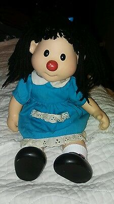 "Rare 14"" Vinyl Face PBS Big Comfy Couch Molly Doll 1996"