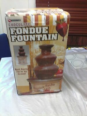 Chocolate Fountain For Parties And Celebrations Special Occasions Fondue New