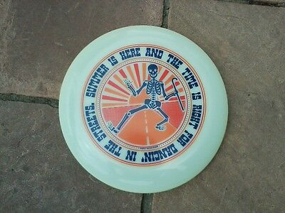 LE POSTER ARTIST FRISBEE 175gm glow ultimate disc DREW FINDLEY/SUBJECT MATTER