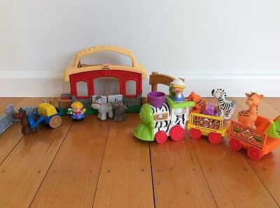 Fisher Price Little People Farm & Zoo Train Set