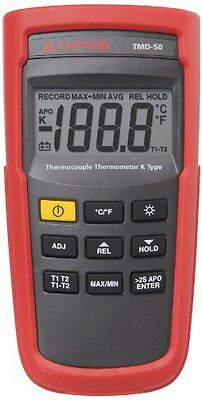 Amprobe TMD-50 Thermocouple Thermometer K-type...NEW