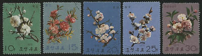 Korea 1975 - Mi 1414-1418 Used Stamps x 5