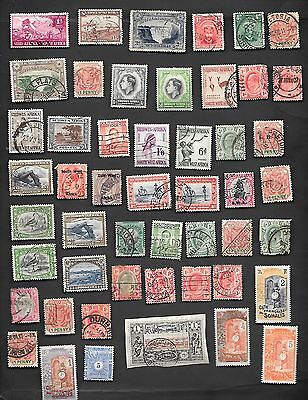 African Counries - Collection Of 118 Very Old Stamps - Nice