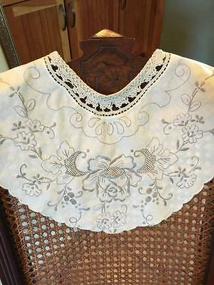 Oh So Gorgeous Vintage/old Embroidered Ladies Collar