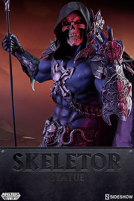 Masters of the Universe Skeletor Premium Format Statue Sideshow Collectibles