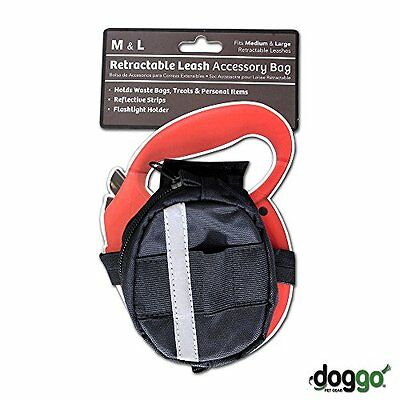 Doggo Retractable Medium and Large Leash Accessory Bag Only