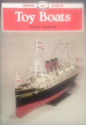 Toy Boats (Shire album) by Harley, Basil Paperback Book The Cheap Fast Free Post