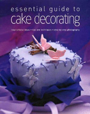 Cake Decorating, ALEX BARKER Hardback Book The Cheap Fast Free Post