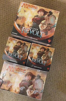 Magic Aether Revolt Booster Box Bundle Fat Pack & 2 Prerelease Kit Live In Stock