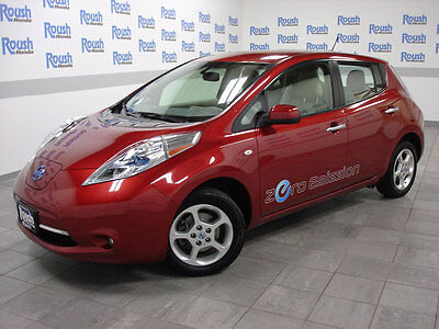 2012 Nissan Leaf 4dr Hatchback SV HEATED STEERING WHEEL & OUTSIDE MIRRORS+FULLY SERVICED!
