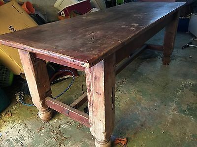 Rustic Antique Dining Table!!
