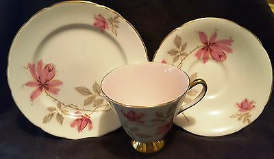 Old Royal china - Pattern 3739 cup, plate and saucer trio