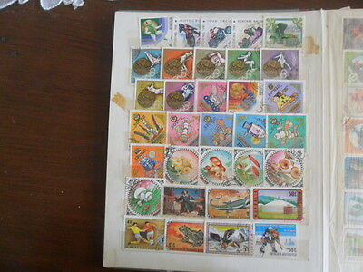 Stamp Album  1000+  World Stamps All Different