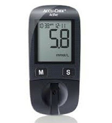 Accu-Chek Active Glucometer Blood Glucose Monitor + 20 Test-Strips Kit by Roche