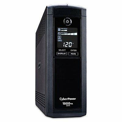 Cyberpower 1500VA UPS POWER SUPPLY, 8 Outlet Uninterruptible POWER SUPPLY