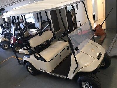 EzGo Golf Cart Electric 4 Seater, Good Batteries With Charger