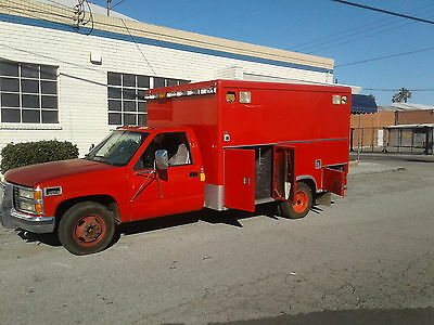 1993 Chevrolet Mccoy Miller Ambulance Truck Low Mileage Fully Loaded