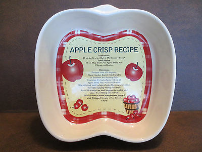 Cracker Barrel Apple Collection Backing Dish
