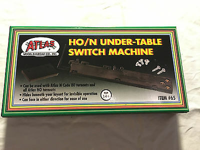 Atlas HO/N scale under-table switch machine (Item#65)