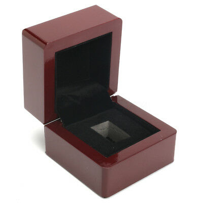 Wooden Display Case Ring Box Slot World Series For Stanley Cup Championship
