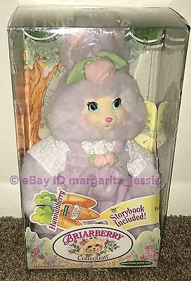 Briarberry Hannahberry Bunny Plush W Storybook Vintage Fisher Price 1999 New Nib