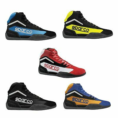 Sparco Gamma KB-4 Go-Kart/Karting Track/Race/Racing Boots - Adult Sizes