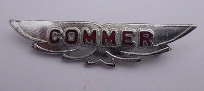 Commer Bus / Lorry Enamel And Chrome Lapel Badge