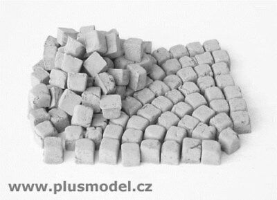 Plus Model 1:35 Paving Stones Small-Granite Resin Diorama Accessory #136
