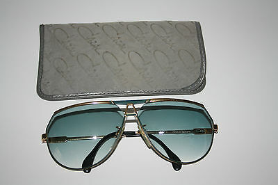 Cazal Sonnenbrille Germany 953 lunettes Brille occhiali 135mm glasses gold