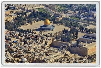 Dome Of The Rock - Jumbo Fridge Magnet  - Jerusalem
