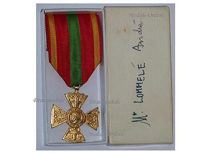 France WW2 Cross Volunteer Combatants 1939 1945 Military Medal French Decoration
