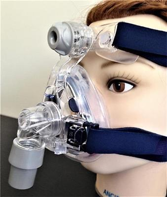 Resmed Mirage Activa LT nasal mask with strap size S M L new CPAP sleep apnea