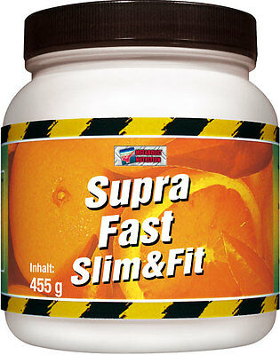 Supra Fast Slim & Fit 455g Vanille DIÄT PROTEIN Shake DETOX made in Germany