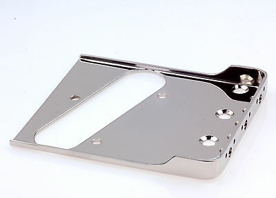 "Tele®Rear Tapered Bridge Nickel 0.60""CR Steel-Made in USA-B.Y.O.B Project"