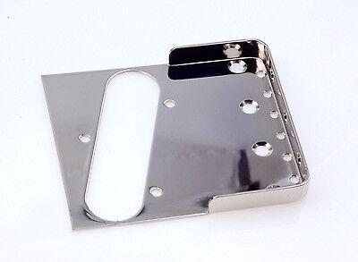 "Tele® Short Wall Bridge Nickel 0.60"" CR Steel -Made in USA- B.Y.O.B Project"